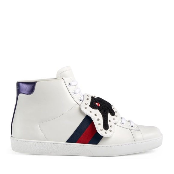 346c952f5 Gucci Shoes | Nib Authentic Sneaker With Removable Patch | Poshmark